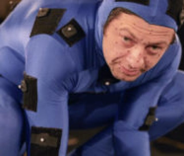 Disappointed Andy Serkis Unwraps Yet Another Mo Cap Suit For Birthday