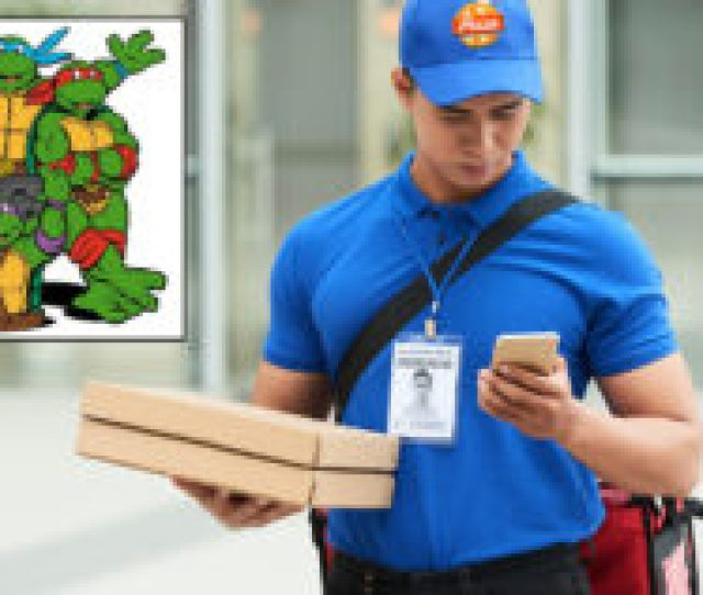 Pizza Guy Who Hasnt Been Asked To Chuck A Pie In The Sewer For A While Starting To Worry About The Ninja Turtles