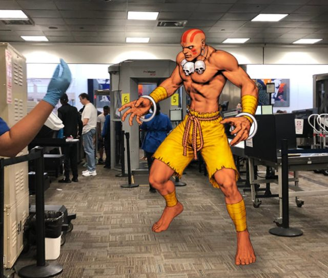 Dhalsim Misses Fight Against Guile After Being Detained By Tsa Again