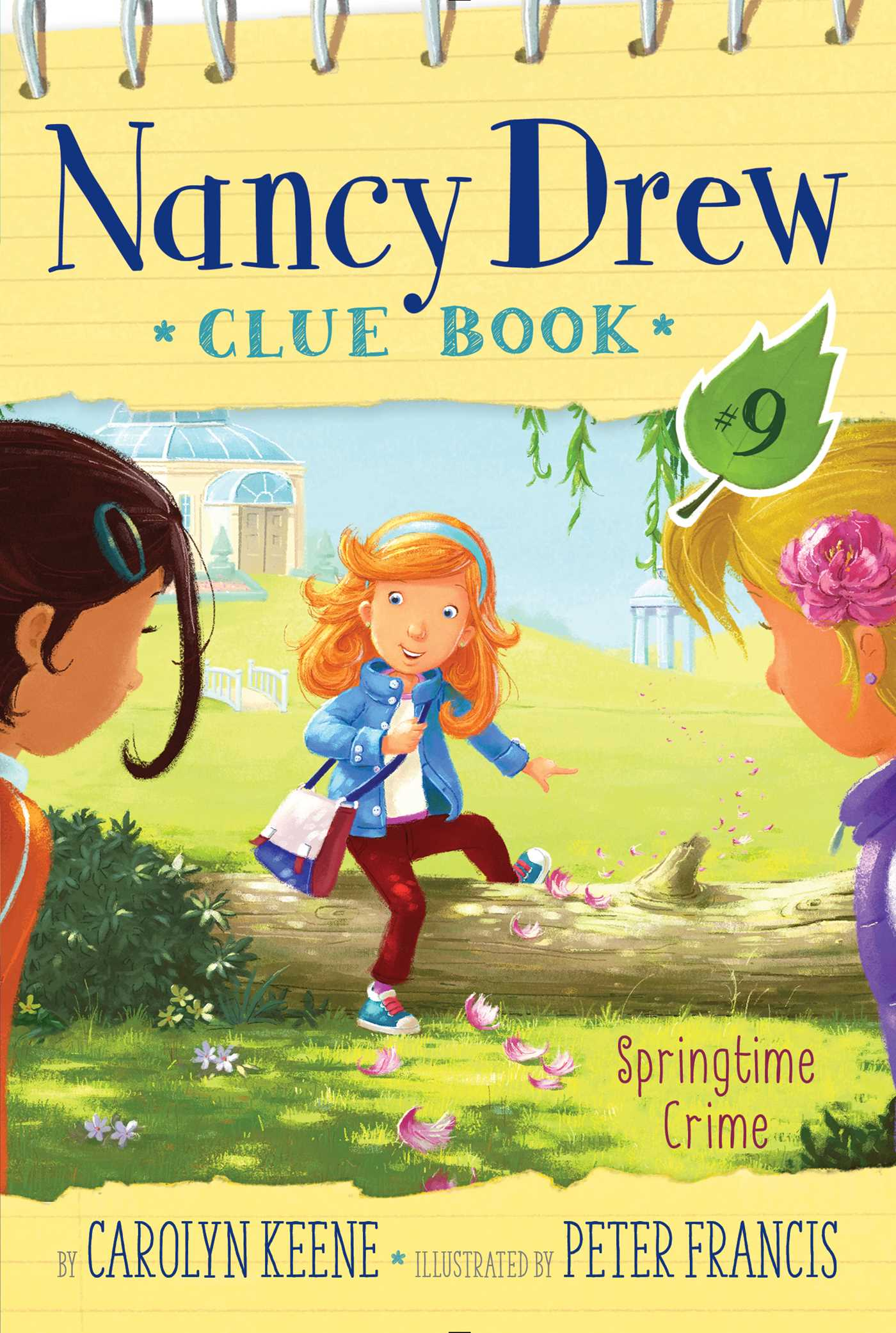 Nancy Drew Clue Book #9 Springtime Crime – Cover Art and Details
