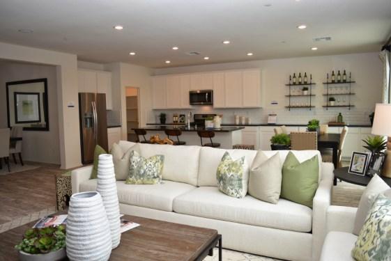 Living Room Meritage Homes_Summerwind Trails Calimesa California