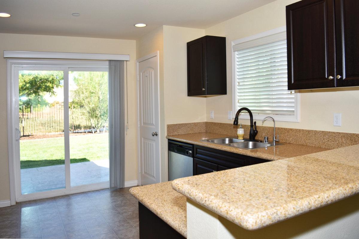 112 Kinn Ave., Beaumont Ca 92223 Kitchen backdoor