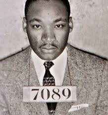 martin luther king, jr. - mug shot
