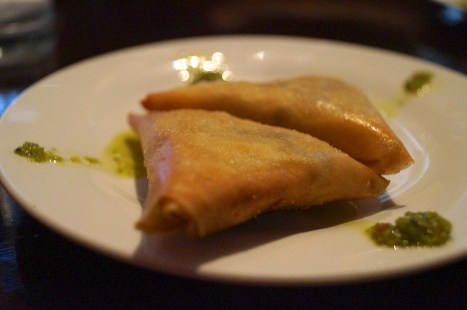 lentil sambusa | photo courtesy of The Harrises of Chicago