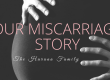Our Miscarriage Story