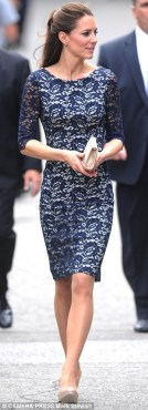 Wearing Erdem during the Royal Tour of Canada in 2011