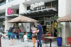 Latteria sells it all: coffee, pastries, pasta, and gelato.