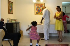 Our youngest cousin Neyissa dazzled us with her dancing. (1/2)