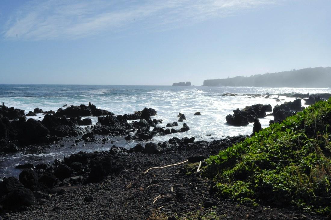 Black-Sand-Beach-Hawaii