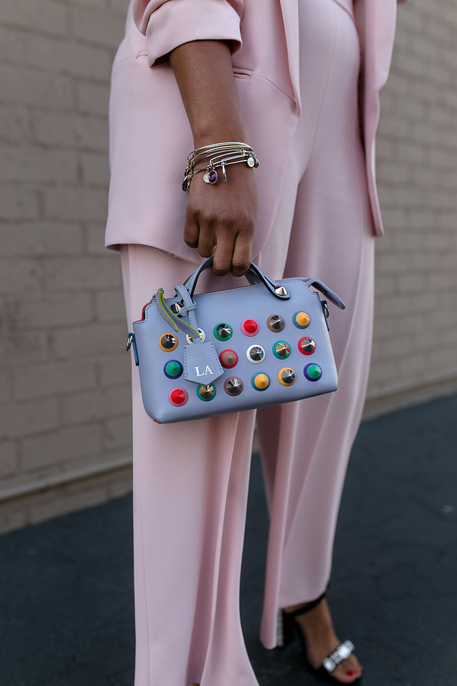 Pink power two piece from Zara on Hautemommie