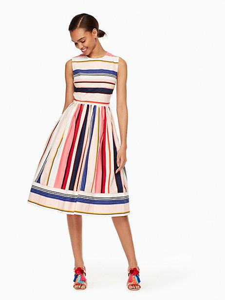 berber-stripe-fit-and-flare-dress-Kate-Spade-New-York