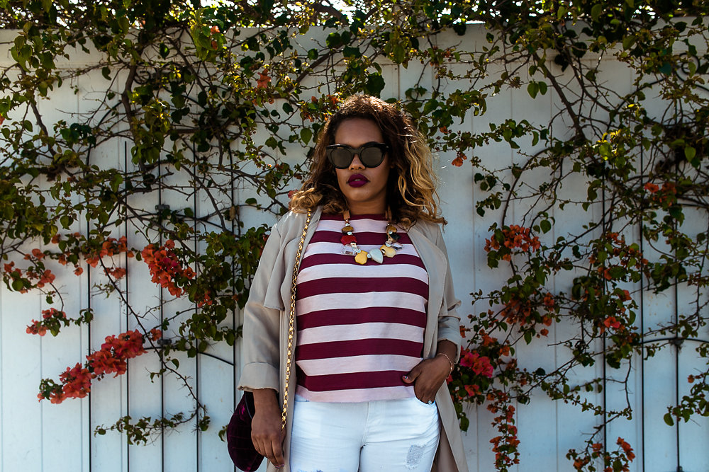 Blogger Hautemommie discusses how keeping it neutral helped her find style.