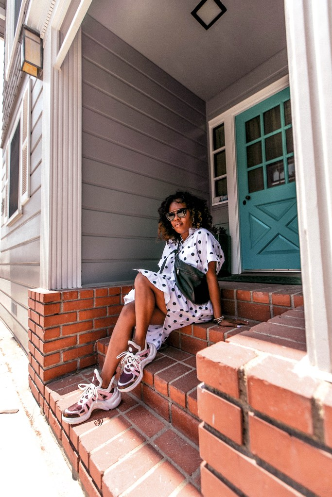 How to style granddad sneakers from Hautemommie - more on the blog
