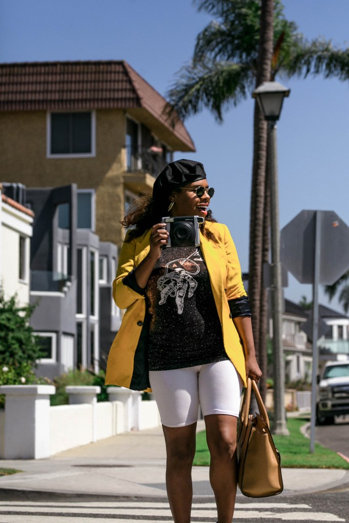 Quick catch Hautemommie as she shares how she styles the biker short trend.