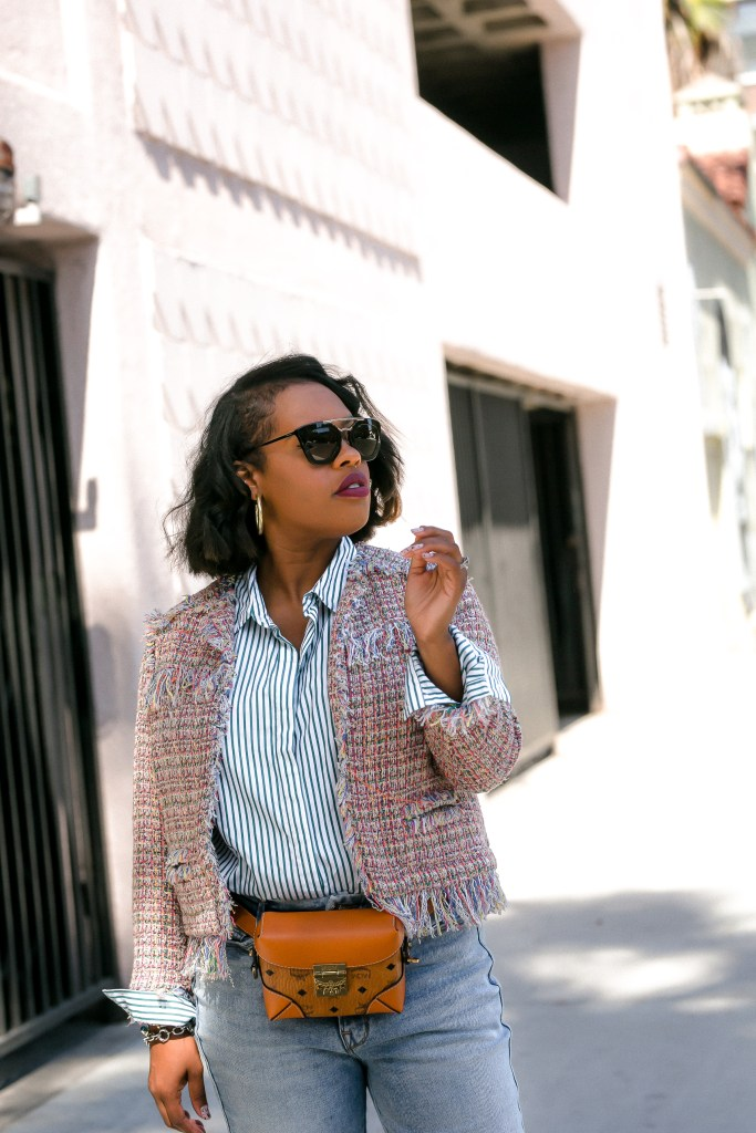 Mastering layering can make or break a fall outfit. For more see thehautemommie.com