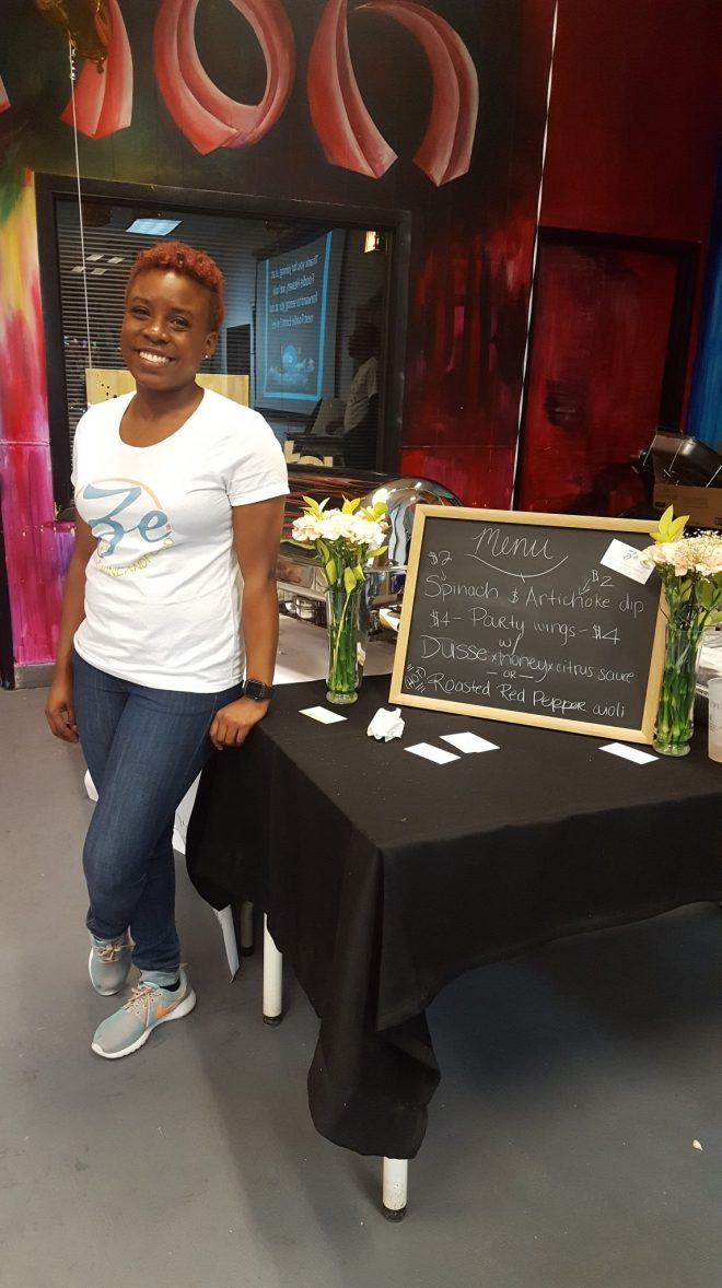 Zeniea Laws of Ze Wine and Food a featured Black Chef featured at Foodie Heave Chicago