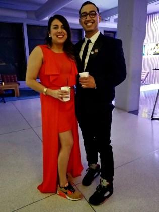 Anahi Perez and Eric Gomez