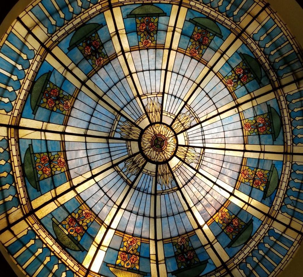chicago-church-skylight-glass-window-things-to-do-thehauteseeker