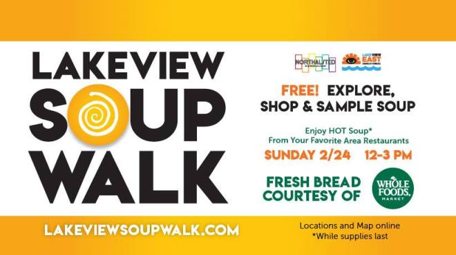 flyer-lakeview-chicago-soup walk-things to do-the haute seeker