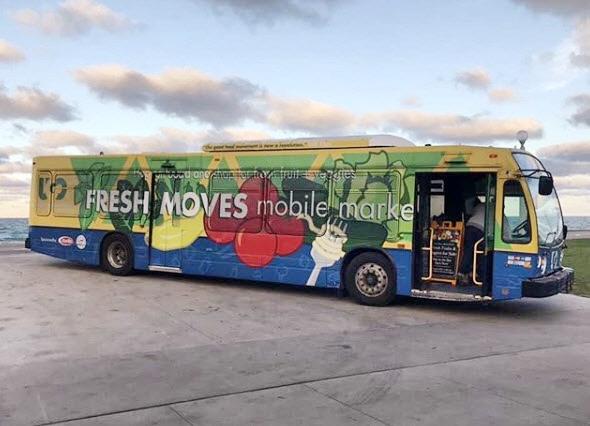 Fresh Moves Mobile Market Bus-Chicago