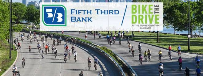 18th Annual Bike the Drive-Flyer-featured on The Haute Seeker