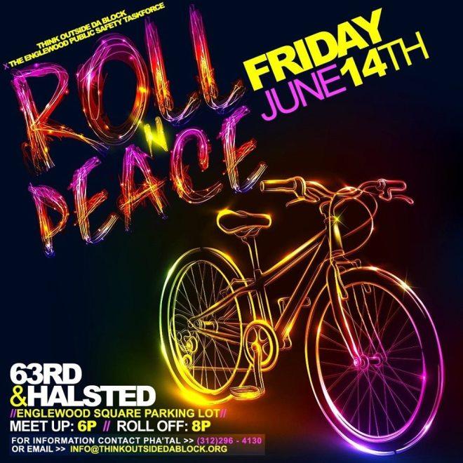 Roll N Peace flyer feature in The Haute Seeker