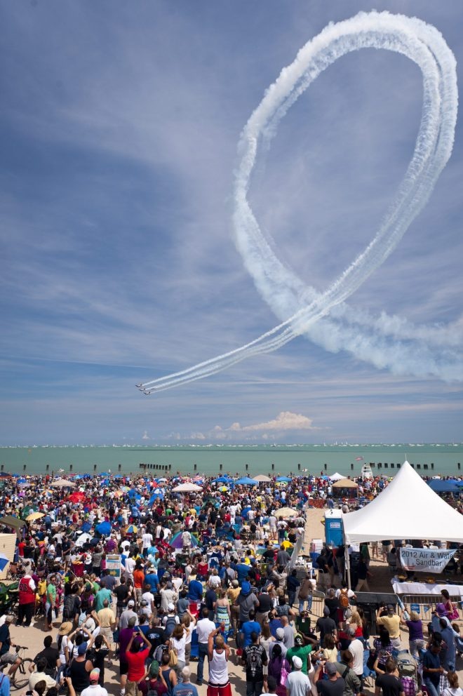 61st Annual Chicago Air and Water Show  featured in August Events Guide 2019 on The Haute Seeker