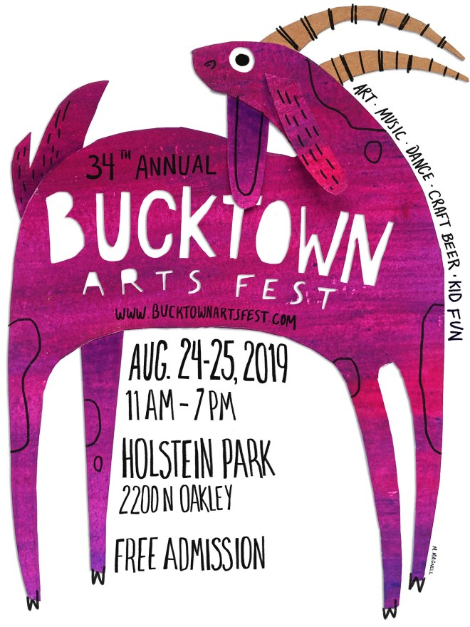 Bucktown Arts Festival feature in The Haute Seeker Weekend Guide of Things to Do in Chicago