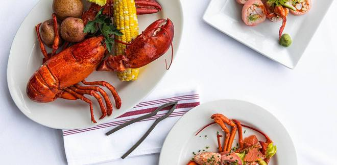 Lobster Festval at Shaws Crab House  featured in the Weekend Seekers Guide August 1st - 4th on The Haute Seeker