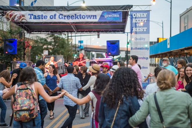 Taste of Greektown Feature in The Haute Seeker Weekend Guide of Things to Do in Chicago