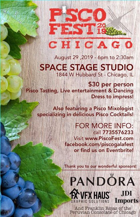 Pisco Fest featured on The Haute Seeker Labor Day Weekend Seekers Guide of Things to Do in Chicago