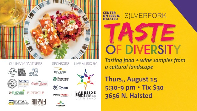 Taste of Diversity Center on Halsted Fun Things to Do this Weekend in Chicago