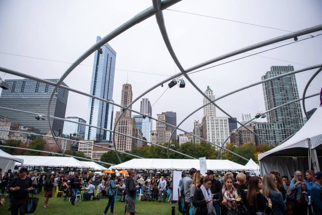 Chicago Gourmet as featured on The Haute Seekers September 2019 Chicago Events Guide