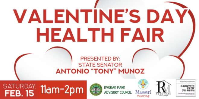 Health Fair in Chicago Valentines Day The Haute Seeker