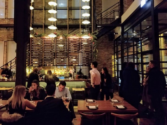 Momotaro West Loop dining room NBA All star weekend events The Haute Seeker