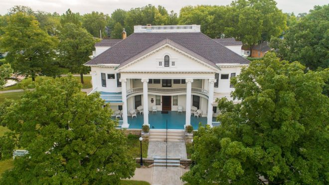 Historic Seelye home in Abilene, Kansas. As featured in The Best Small Towns and Cities to Visit in the Midwest by The Haute Seeker