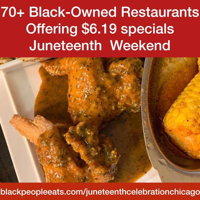 Black People Eats Juneteenth Celebration Chicago as featured on The Haute Seeker