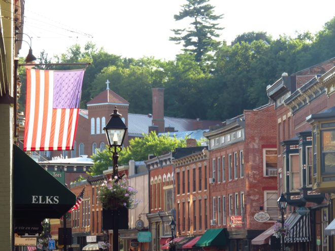 Downtown in Galena, Illinois. As featured in The Best Small Towns and Cities to Visit in the Midwest by The Haute Seeker