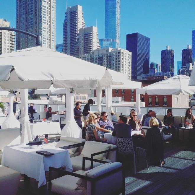 Rooftop of the IO Godfrey Chicago The Haute Seeker Seek Like a Local