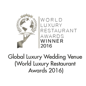 Luxury Wedding Venue (Global) (World Luxury Restaurant Awards 2016)