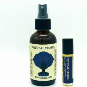 Crystal Visions aromatherapy set
