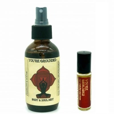 You're Grounded aromatherapy set