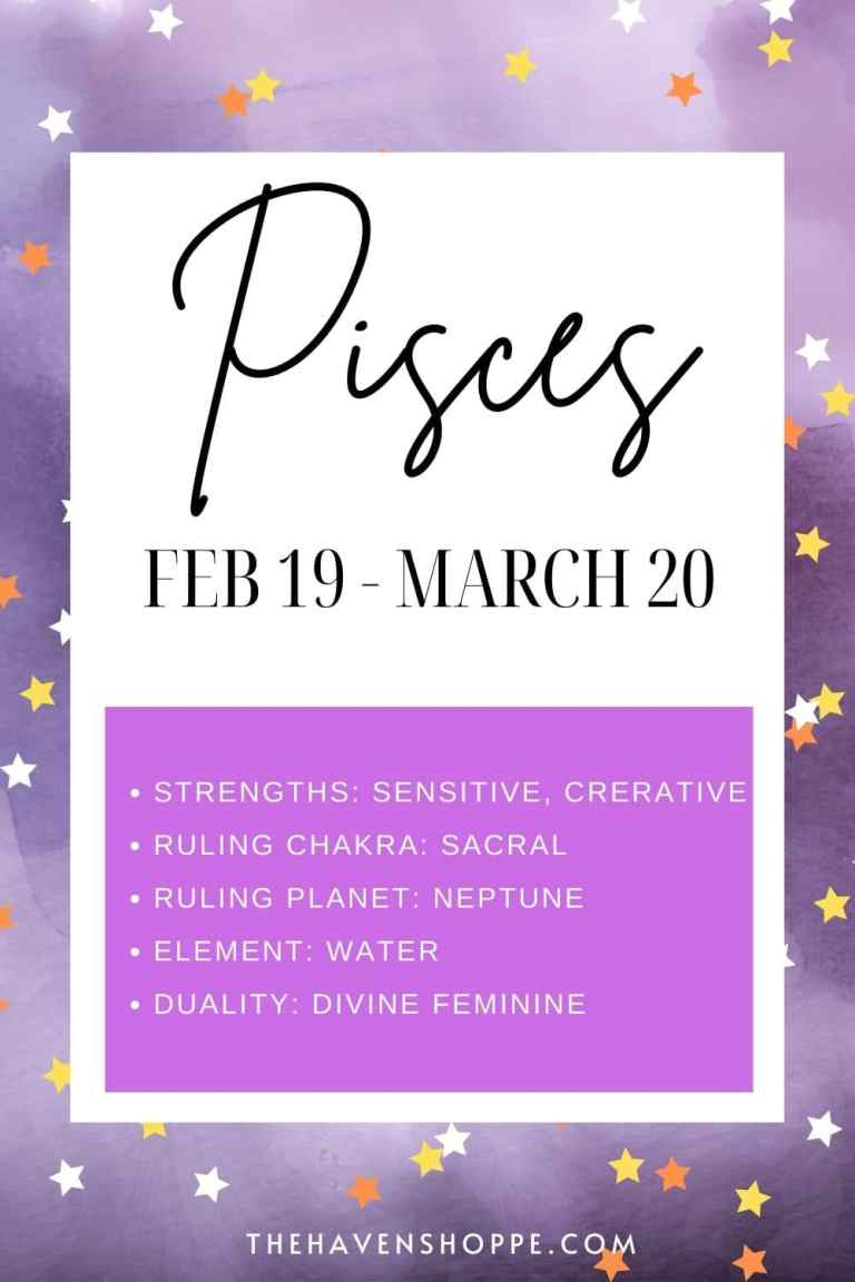 pisces zodiac sign meaning pin