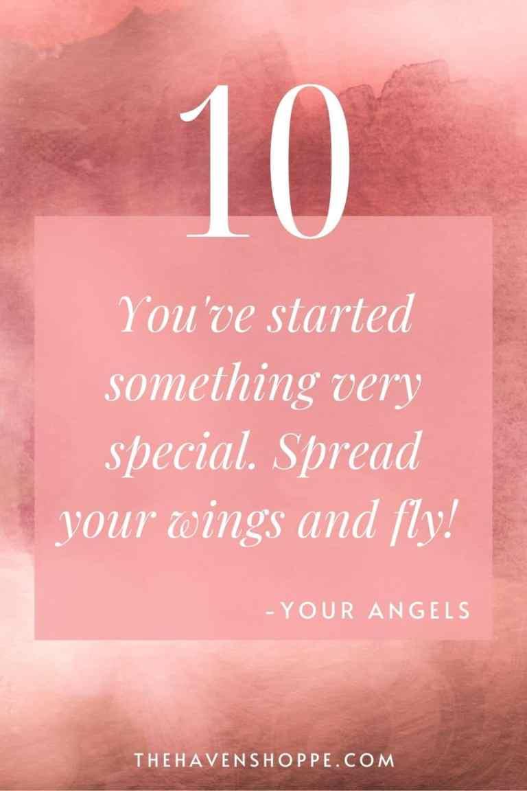 pinnable angel number 10 message