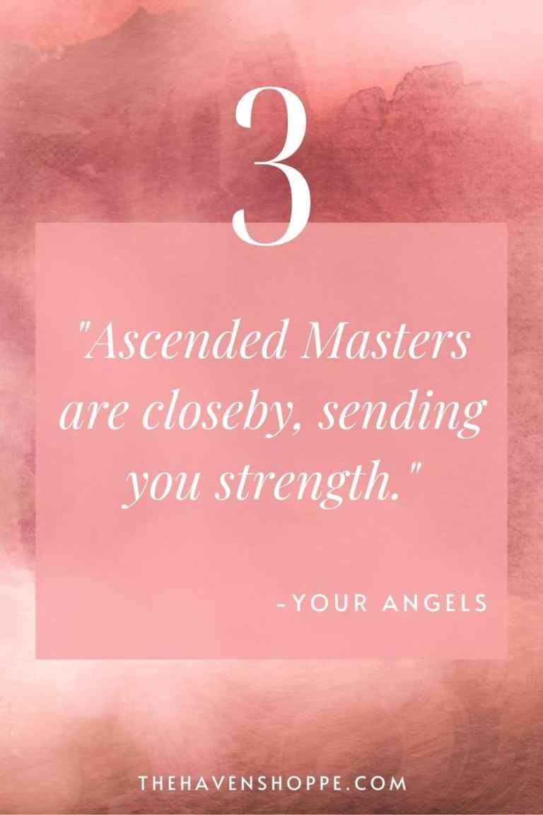 pinnable angel number 3 message