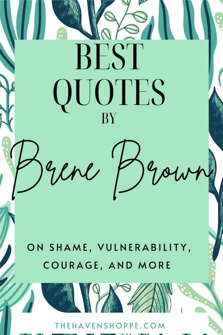 Brene Brown Quotes Pin