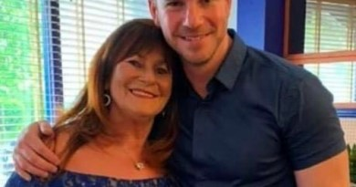 Adam raises £11.5k to thank Queen's Hospital for saving his mum's life.