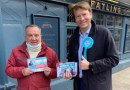 VIDEO: Leader of The Reform Party visits Hornchurch.