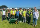 VIDEO: Park being transformed thanks to locals, college students and Havering Council.