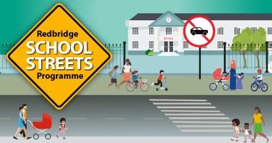 Children to breathe easier and travel safely under Redbridge School Streets programme.